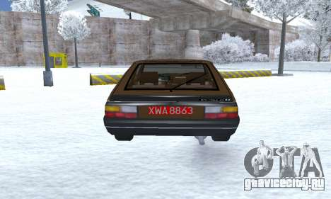 FSO Polonez 2.0X Coupe для GTA San Andreas вид справа