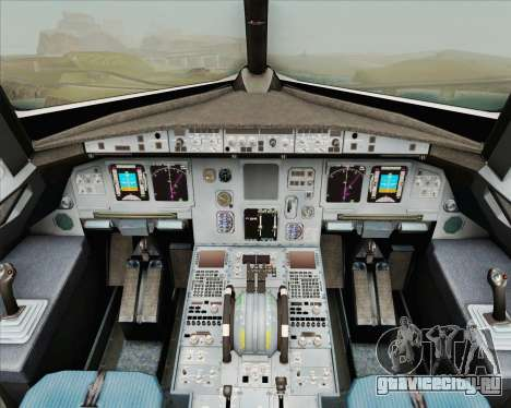 Airbus A320-200 Air New Zealand для GTA San Andreas салон