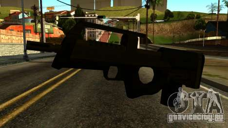 Assault SMG from GTA 5 для GTA San Andreas