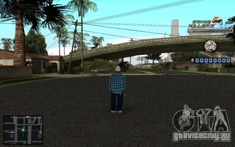 C-HUD SWAG Killerz для GTA San Andreas второй скриншот