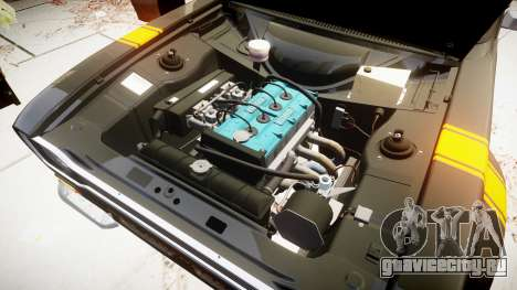 Ford Escort RS1600 PJ22 для GTA 4 вид сзади
