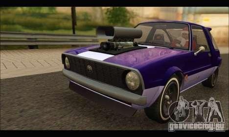 Declasse Rhapsody v2 (Fixed Extra) (GTA V) для GTA San Andreas вид слева