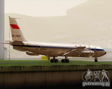 Boeing 707-300 CAAC для GTA San Andreas вид справа