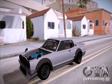 Nissan Skyline 2000 GT-R Drift Edition для GTA San Andreas