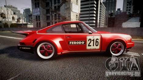 Porsche 911 Carrera RSR 3.0 1974 PJ216 для GTA 4 вид слева