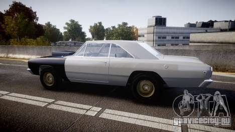 Dodge Dart HEMI Super Stock 1968 rims1 для GTA 4 вид слева