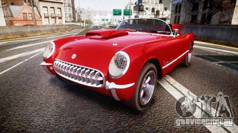 Chevrolet Corvette C1 1953 race для GTA 4