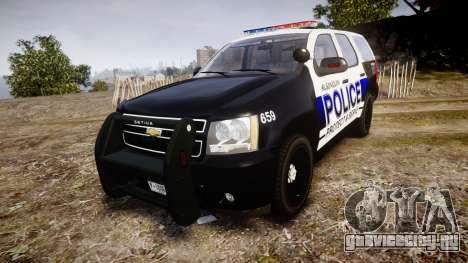 Chevrolet Tahoe 2010 Police Algonquin [ELS] для GTA 4