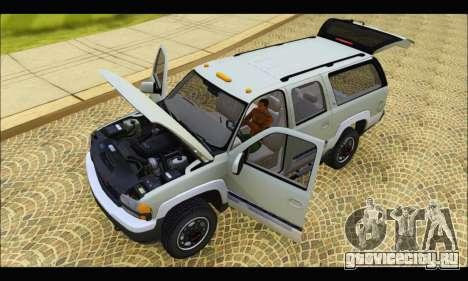 GMC Yukon XL 2003 v.2 для GTA San Andreas вид сзади