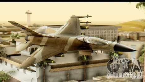 F-16 Fighter-Bomber Desert Camo для GTA San Andreas