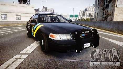 Ford Crown Victoria Sheriff Bohan [ELS] для GTA 4