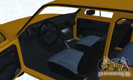 Fiat 126p FL для GTA San Andreas двигатель