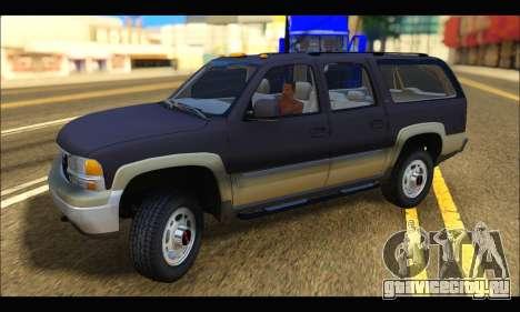 GMC Yukon XL 2003 для GTA San Andreas вид слева
