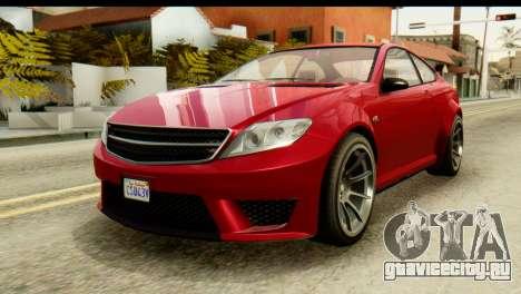 GTA 5 Benefactor Schwartzer для GTA San Andreas