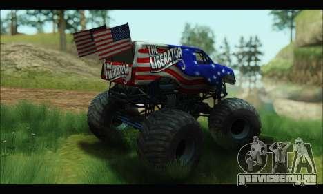 Monster The Liberator (GTA V) для GTA San Andreas вид справа