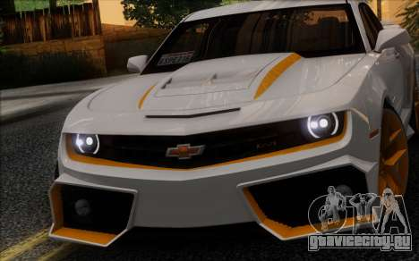Chevrolet Camaro VR (IVF) для GTA San Andreas вид слева