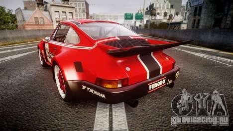 Porsche 911 Carrera RSR 3.0 1974 PJ216 для GTA 4 вид сзади слева