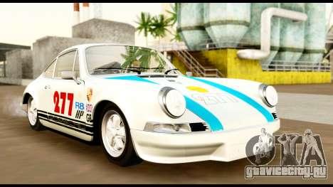 Porsche 911 Carrera 2.7RS Coupe 1973 Tunable для GTA San Andreas вид сверху