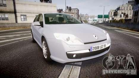 Renault Laguna III 2007 для GTA 4