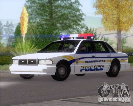 Police LS Metropolitan Police для GTA San Andreas