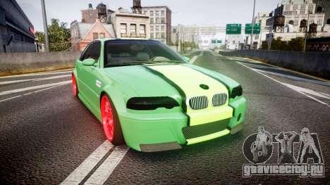 BMW M3 E46 Green Editon для GTA 4