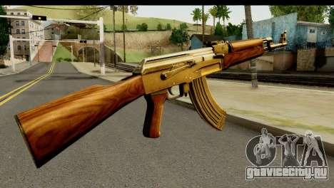 New AK47 для GTA San Andreas второй скриншот