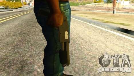 Sawnoff Shotgun from GTA 5 для GTA San Andreas третий скриншот