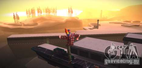 ENB by NIKE для GTA San Andreas четвёртый скриншот