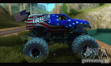 Monster The Liberator (GTA V) для GTA San Andreas
