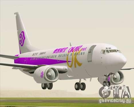 Boeing 737-500 Okay Airways для GTA San Andreas
