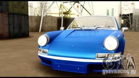 Porsche 911 Carrera 2.7RS Coupe 1973 Tunable для GTA San Andreas вид снизу