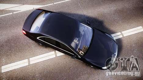Mercedes-Benz S500 W222 для GTA 4 вид справа