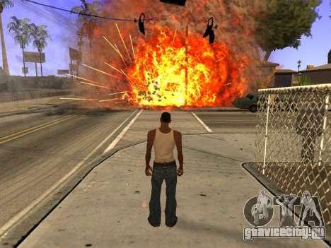 New Realistic Effects 4.0 Full Final Version для GTA San Andreas четвёртый скриншот