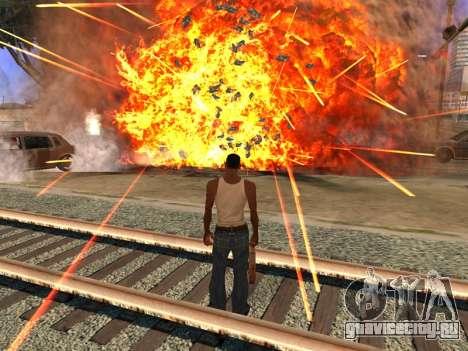 New Realistic Effects 4.0 Full Final Version для GTA San Andreas