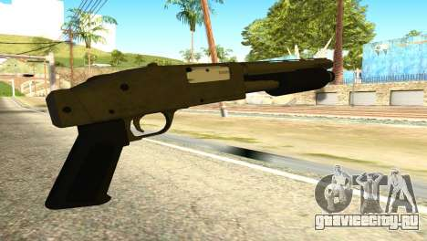 Sawnoff Shotgun from GTA 5 для GTA San Andreas второй скриншот