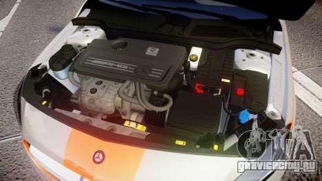 Mersedes-Benz A45 AMG PJs3 для GTA 4 вид изнутри