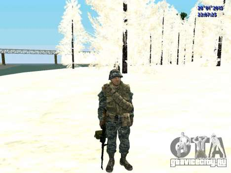 Спецназ РФ (CoD Black Ops) для GTA San Andreas
