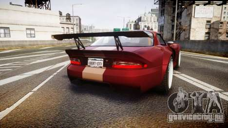 Bravado Banshee GTA V Style для GTA 4 вид сзади слева