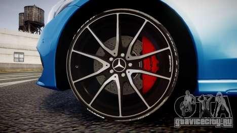Mercedes-Benz C250 AMG (W205) 2015 для GTA 4 вид сзади