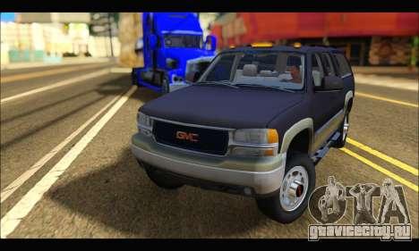 GMC Yukon XL 2003 для GTA San Andreas