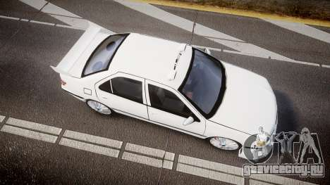 Peugeot 406 Taxi [Final] для GTA 4 вид справа