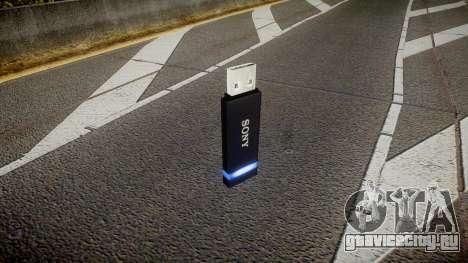USB-флеш-накопитель Sony blue для GTA 4