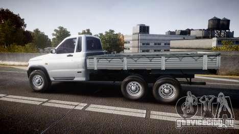 УАЗ 2360 6x6 для GTA 4 вид слева
