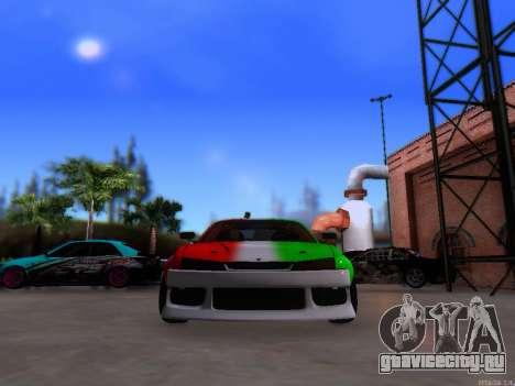 Nissan 200SX Elite Gas для GTA San Andreas вид справа