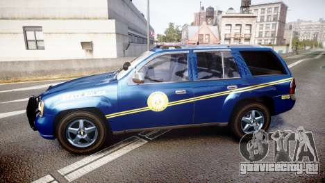 Chevrolet Trailblazer Virginia State Police ELS для GTA 4 вид слева