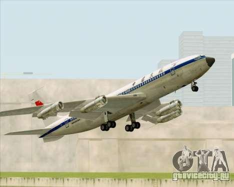 Boeing 707-300 CAAC для GTA San Andreas вид сбоку