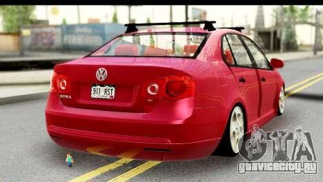 Volkswagen Bora GTI 2011 для GTA San Andreas вид слева