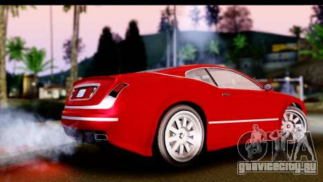 GTA 5 Enus Cognoscenti Cabrio IVF для GTA San Andreas вид слева