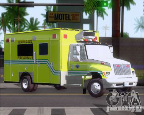 Pierce Commercial Miami Dade Fire Rescue 12 для GTA San Andreas