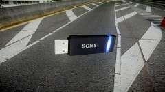 USB-флеш-накопитель Sony blue